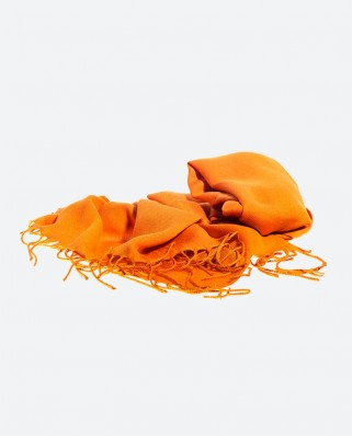 Light Orange Scarf