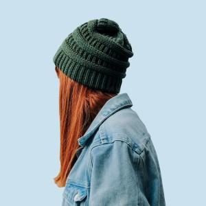 Wool Green Hat